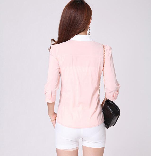 เสื้อลูกไม้สีชมพู