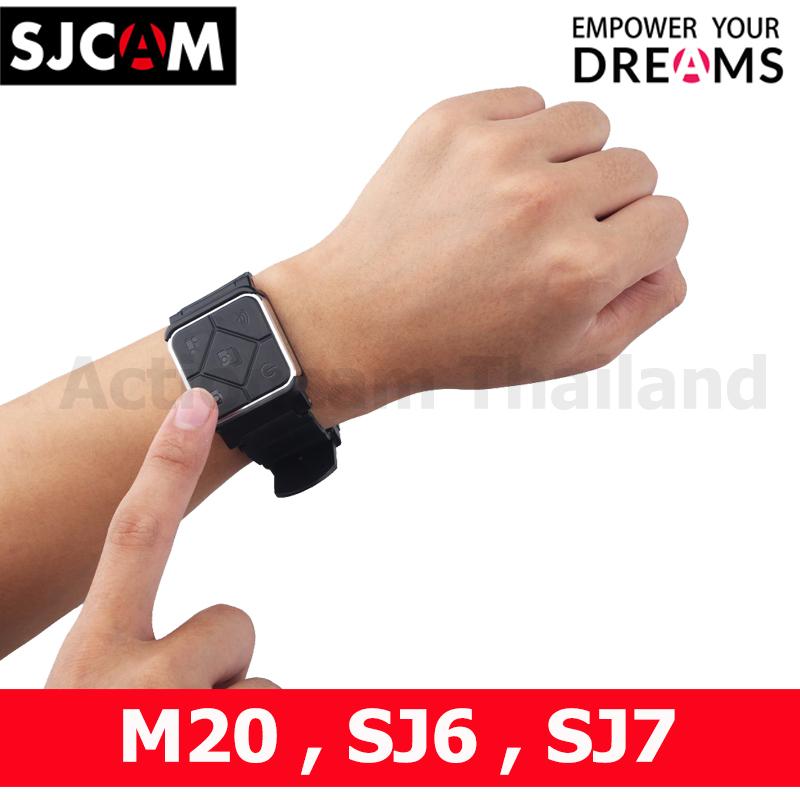 SJCAM Remote Band M20 Sj6 Sj7 (รีโมทแบบสายรัดข้อมือ)