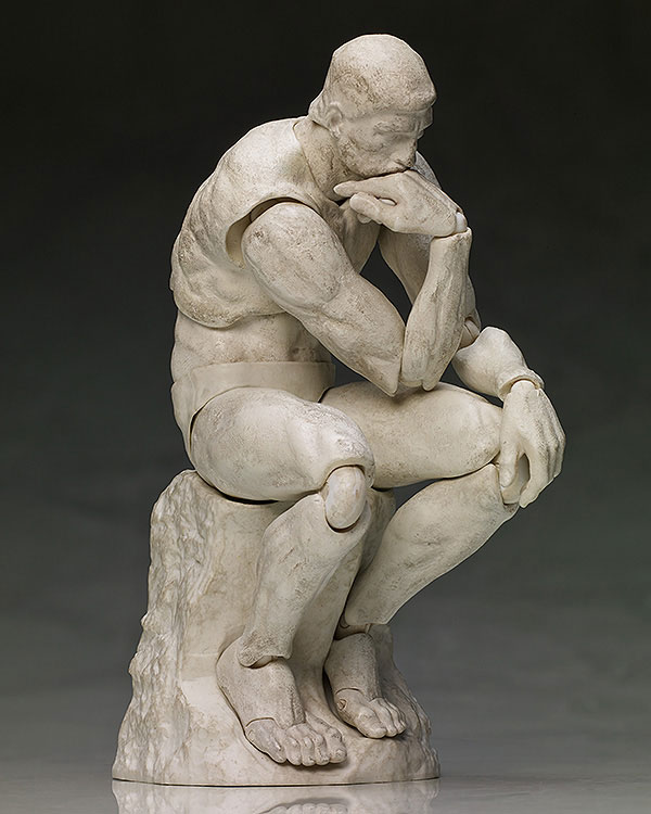 figma - The Table Museum: The Thinker Plater ver.(Pre-order)