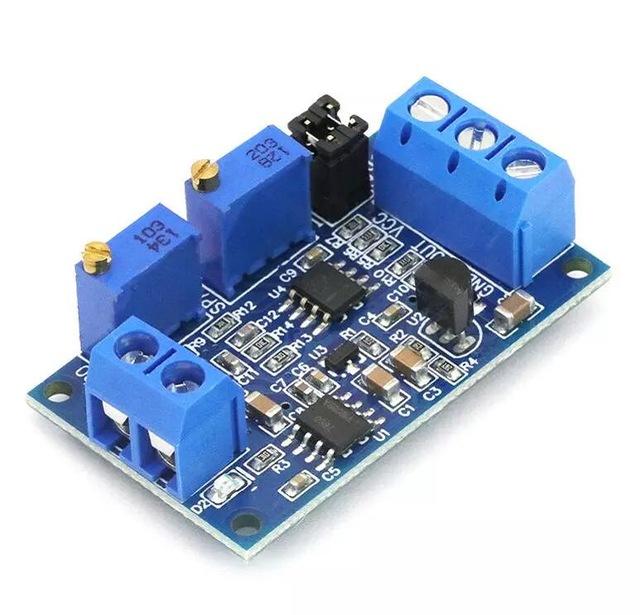 โมดูลแปลงกระแสเป็นโวลต์ 0-20mA หรือ 0-40mA เป็น 0-3.3V 5V 10V Current to voltage module voltage transmitter signal conversion