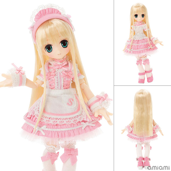 Picco Sarah's a. la. mode - Sweets a. la. mode - White Strawberry Shortcake / Sarah Complete Doll(Pre-order)