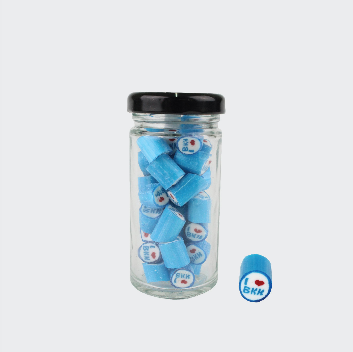 Tall Jar of Blue I Lover BKK (50g. Jar)