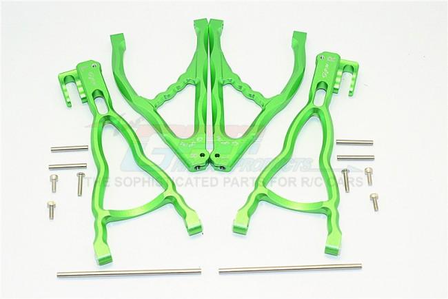 New 4 Piece Thunder Tiger Shock Absorber Rear//Front Aluminium 1:8 Mt-4