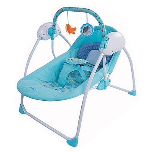 เปลอัตโนมัติ Primi รุ่น Little swing 1 (รุ่นมาตราฐาน) สีฟ้า