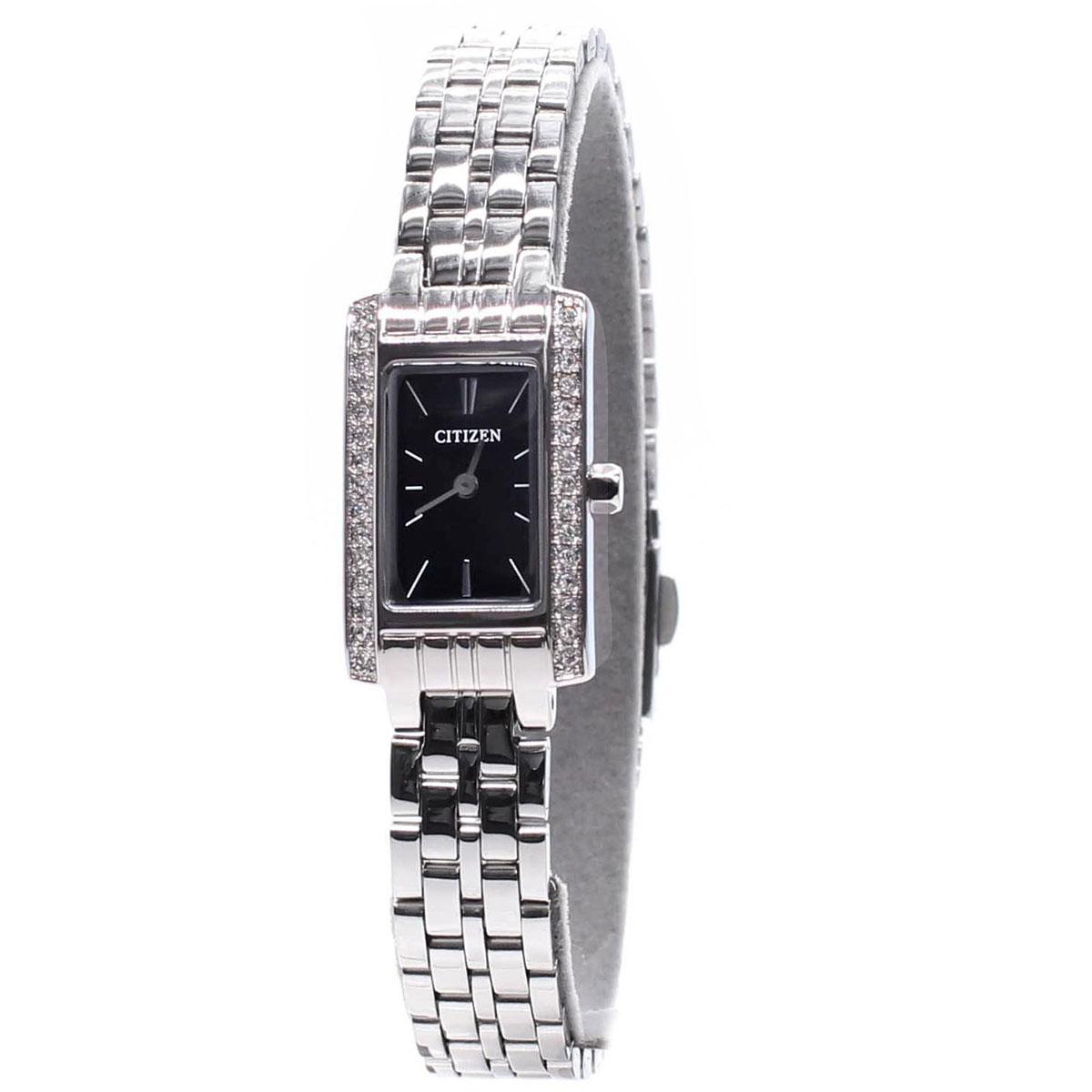 นาฬิกาผู้หญิง Citizen รุ่น EZ6350-53E, Dress QUARTZ Analog Silver Watch