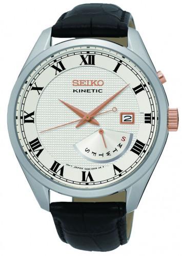 นาฬิกาผู้ชาย Seiko รุ่น SRN073P1, Kinetic 100m