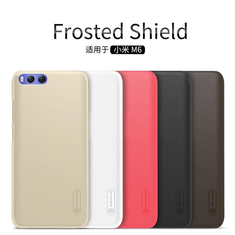เคส Xiaomi Mi 6 Nilkin Super Frosted Shield (ฟรี ฟิล์มกันรอยใส)