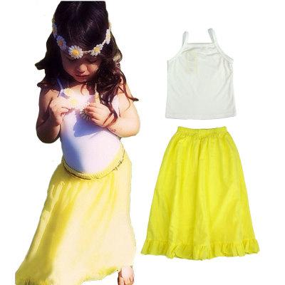 ID237- 5 ชุด/แพค เสื้อ+กระโปรง ไซส์ 100-110-120-130-140