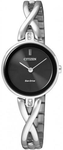 นาฬิกาข้อมือผู้หญิง Citizen Eco-Drive รุ่น EX1420-84E, Elegant Jewellery Bracelet Watch
