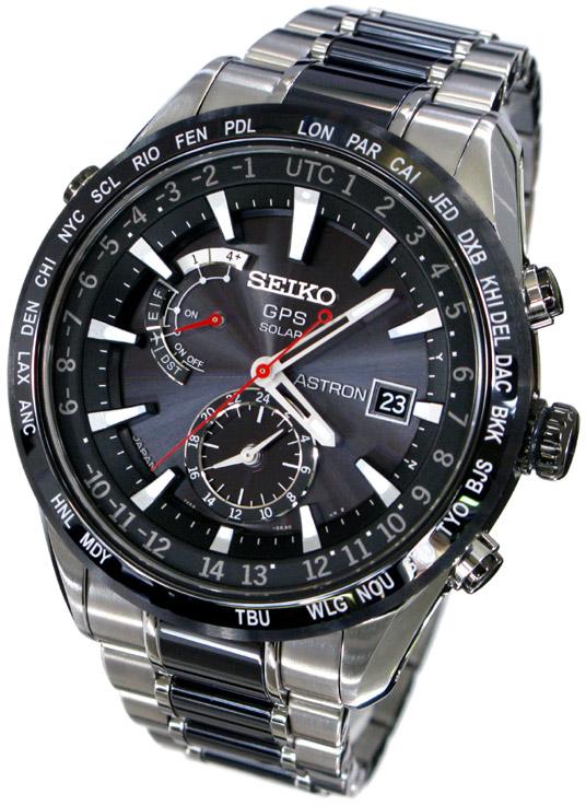 นาฬิกาผู้ชาย Seiko Astron รุ่น SBXA015, GPS Solar