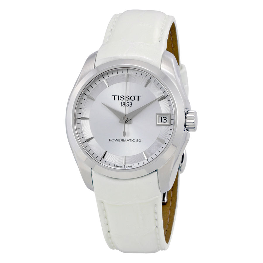 นาฬิกาผู้หญิง Tissot รุ่น T0352071603100, COUTURIER POWERMATIC 80 LADY