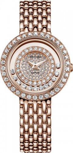 นาฬิกาผู้หญิง Rhythm รุ่น L1203S06, Sapphire Crystal Collection L1203S-06, L1203S 06