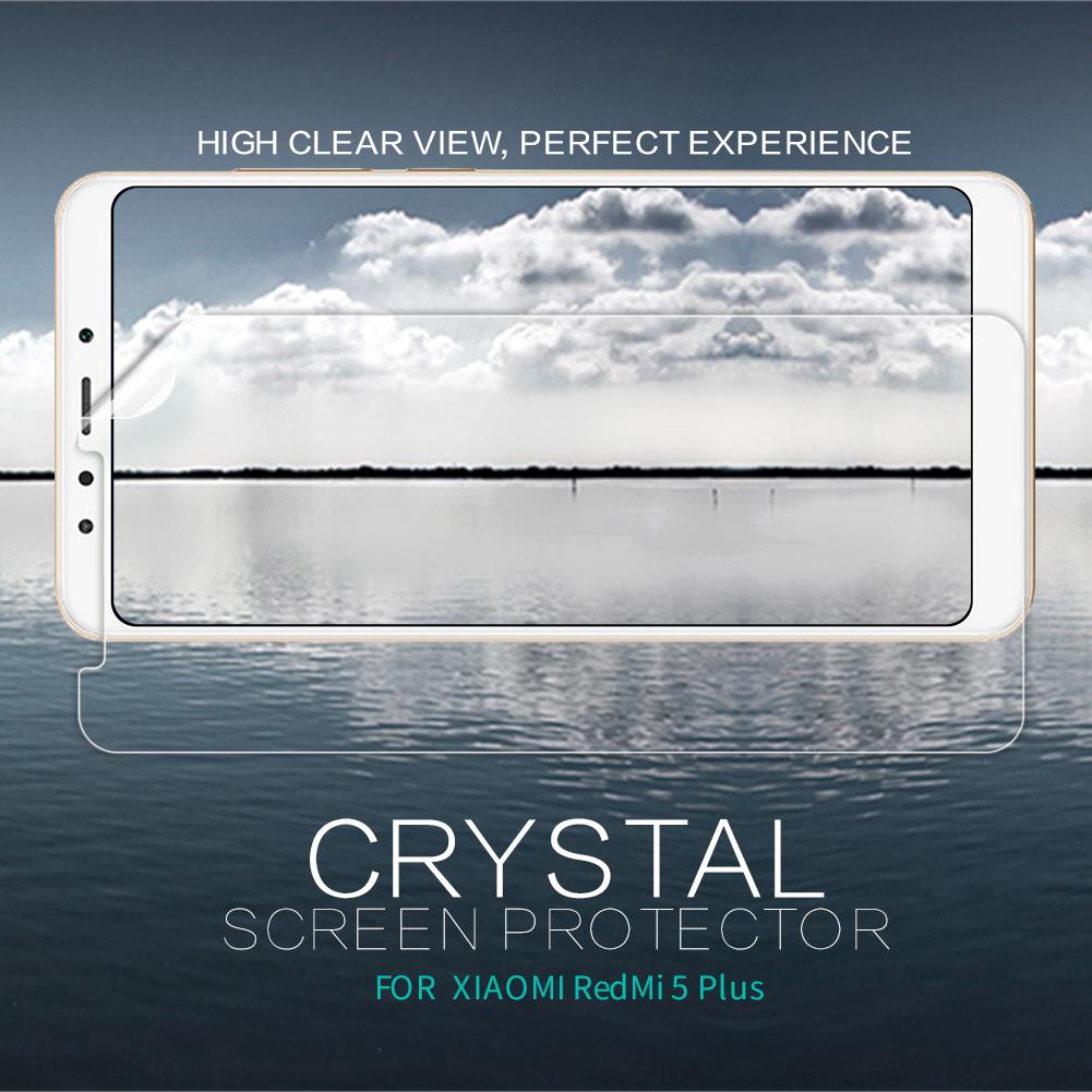ฟิล์มกันรอยใส Nillkin Super Clear สำหรับ Xiaomi Redmi 5 Plus