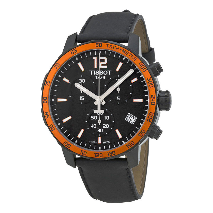 นาฬิกาผู้ชาย Tissot รุ่น T0954173605701, Quickster Chronograph Tachymeter Quartz Men's Watch