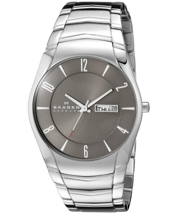 นาฬิกาผู้ชาย Skagen Laurits Quartz Stainless Steel รุ่น 531XLSXM1