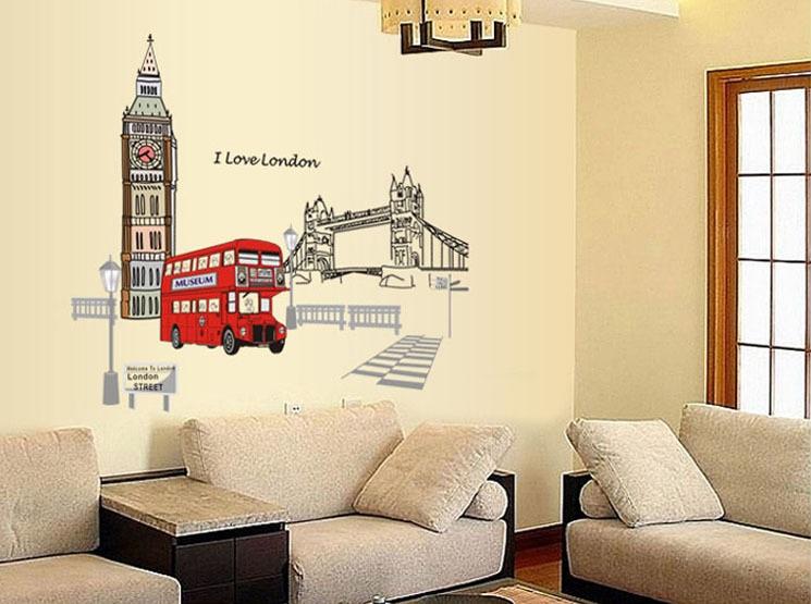 สติกเกอร์ I Love London