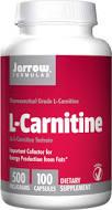 Jarrow Formulas L-Carnitine 500, 500 mg 100 Veggie Caps