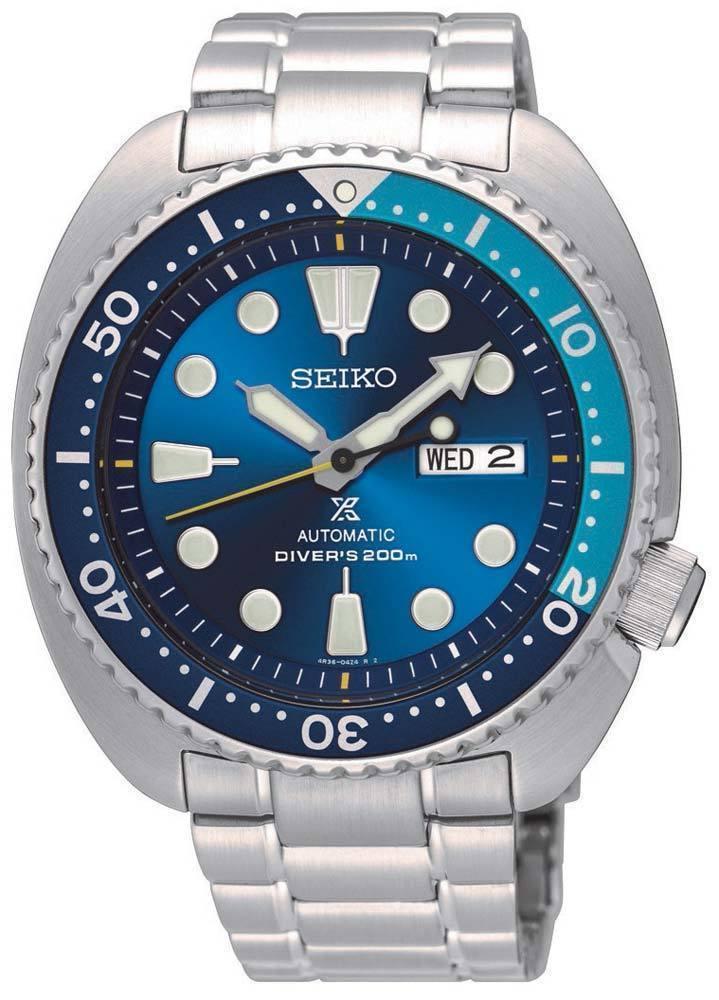 นาฬิกาผู้ชาย Seiko รุ่น SRPB11K1, PROSPEX Diver's Blue Lagoon 'Turtle' Limited Edition