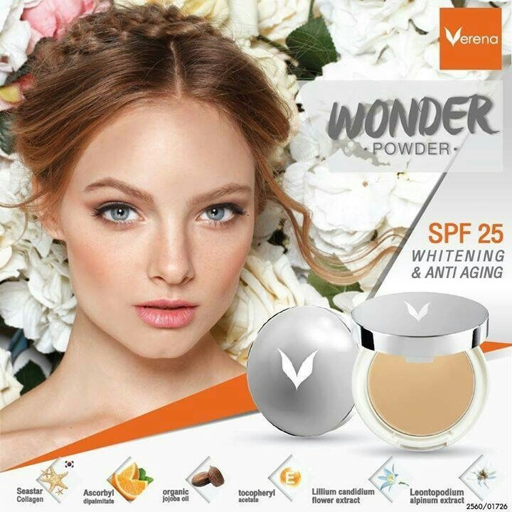 Verena Wonder Powder Perfect Fix 2 Way Foundation SPF 25