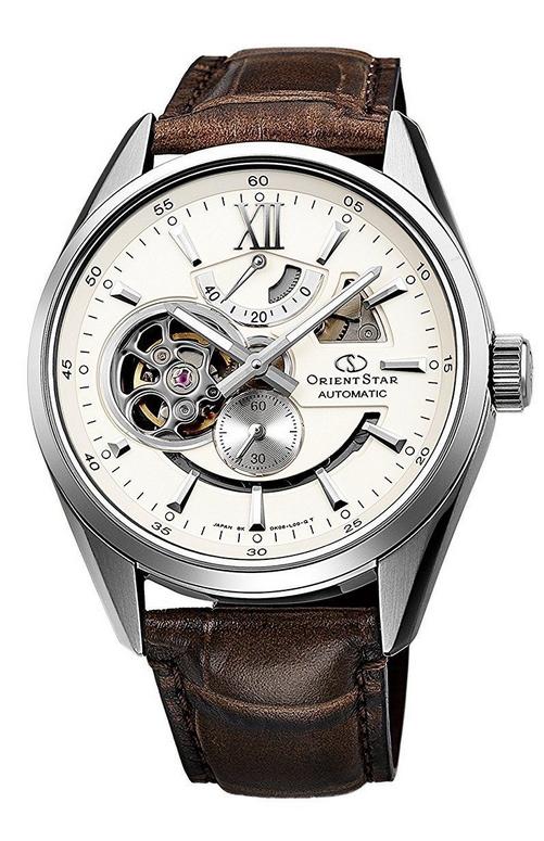 นาฬิกาผู้ชาย Orient รุ่น WZ0291DK, Orient Star Skeleton Automatic Winding Open Heart Made In Japan