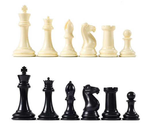 "4 1/8"" Premier Chess Pieces"
