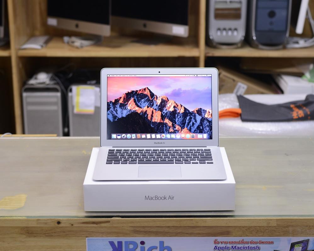 MacBook Air 13-inch Mid2017 Intel Core i5 1.8GHz RAM 8GB SSD 128GB Apple Warranty 01-08-18