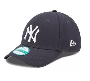 หมวก NY NEW ERA 9FORTY Adjustable - Navy Blue (สติ๊กเกอร์เขียว)