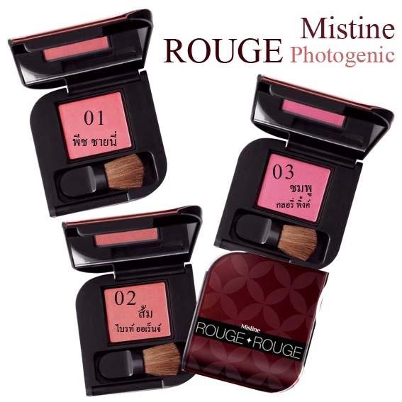 ที่ทาแก้ม มิสทิน/มิสทีน รูจ โฟโตจีนิค Mistine Rouge Photogenic
