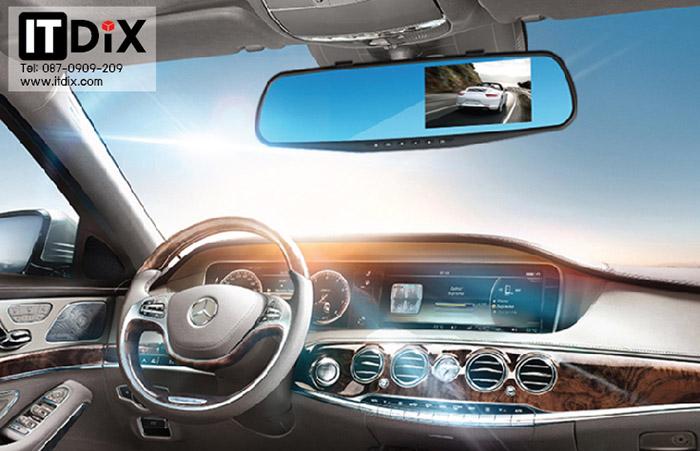 กล้องติดรถยนต์หน้าหลัง S500