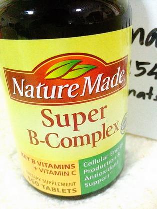 พร้อมส่งวิตามินบำรุงร่างกายสมองSuper B-Complex Key VitaminB and VitC 460เม็ดNature Made made in USAตัวนี้ดีที่สุดมีแร่ธาตุมากที่สุดโปรฯลดเยอะมากๆ
