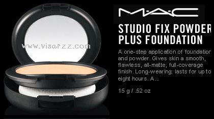 (# NC30) MAC Studio Fix Powder Plus Foundation 15g # NC30 แป้งผสมรองพื้นเนื้อละเอียด ปกปิดริ้วรอยได้ดี และติดทนสูงสุดถึง 8 ชม. สี NC30 สำหรับผิวสองสี.