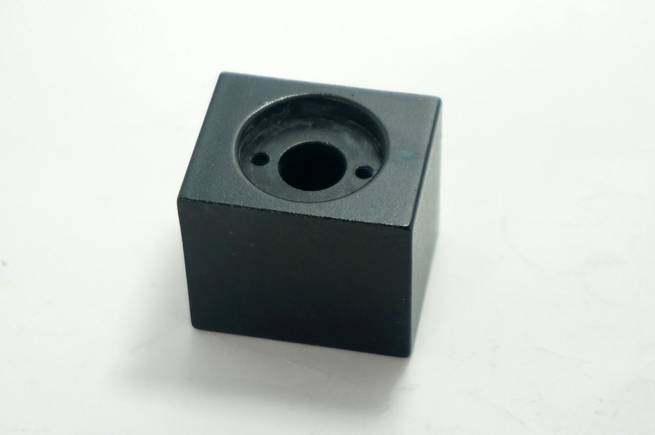 Aluminium housing ใส่กับ Copper Nut 8mm สีดำ