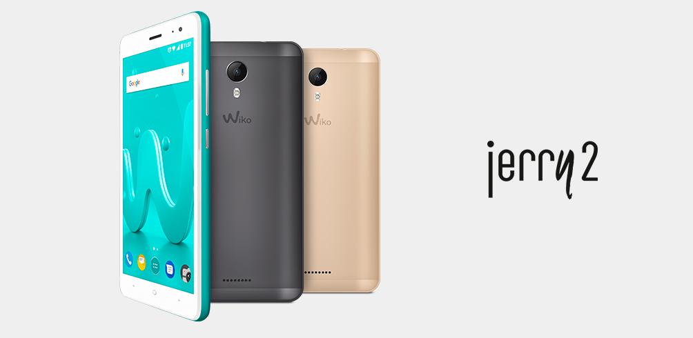 "WIKO JERRY2 5.0"" QC1.3 16+1GB 5+5MP(สี GREY,GOLD,BLEEN)"