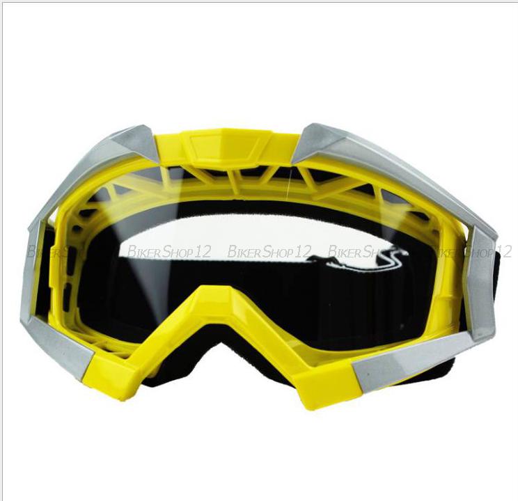 แว่นวิบาก (Goggle) สีเหลือง สำเนา