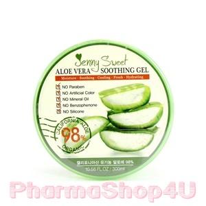 Jenny Sweet Aloe Vera Soothing Gel 98% 300 ml. เจลบำรุงผิว อุดมคุณค่าจากว่านหางจระเข้ เหมาะสำหรับผิวแห้ง จากเกาหลี