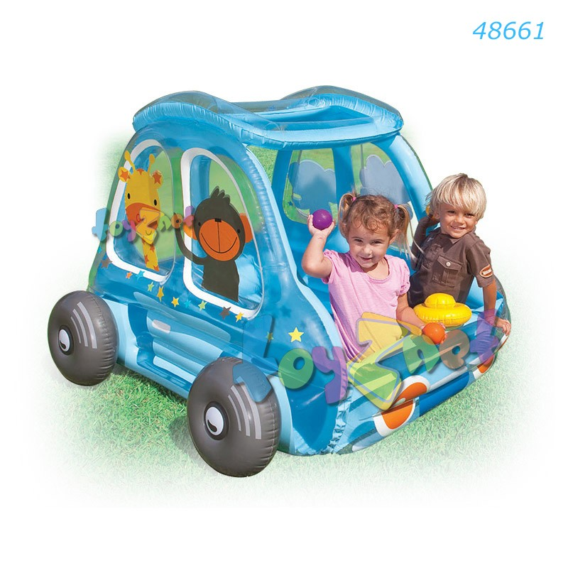 Intex สวนสนุกรถสัตว์ป่าน้อย รุ่น 48661