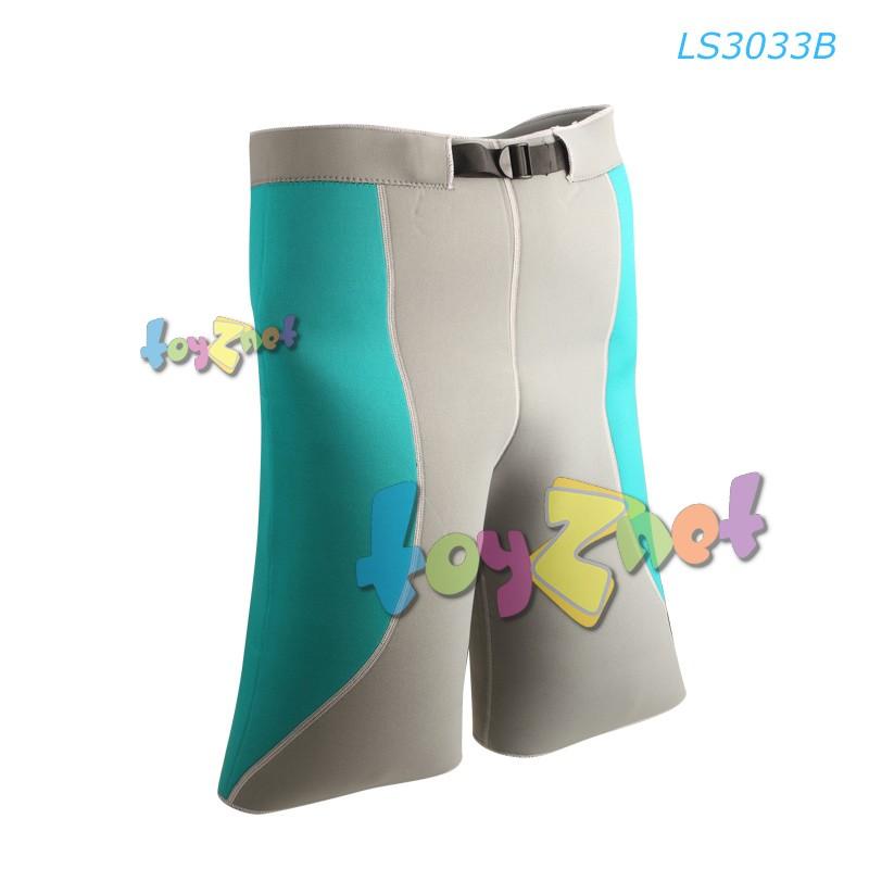 Liveup กางเกงขาสั้นกระชับสัดส่วน (ดำ-แดง) รุ่น LS3033B