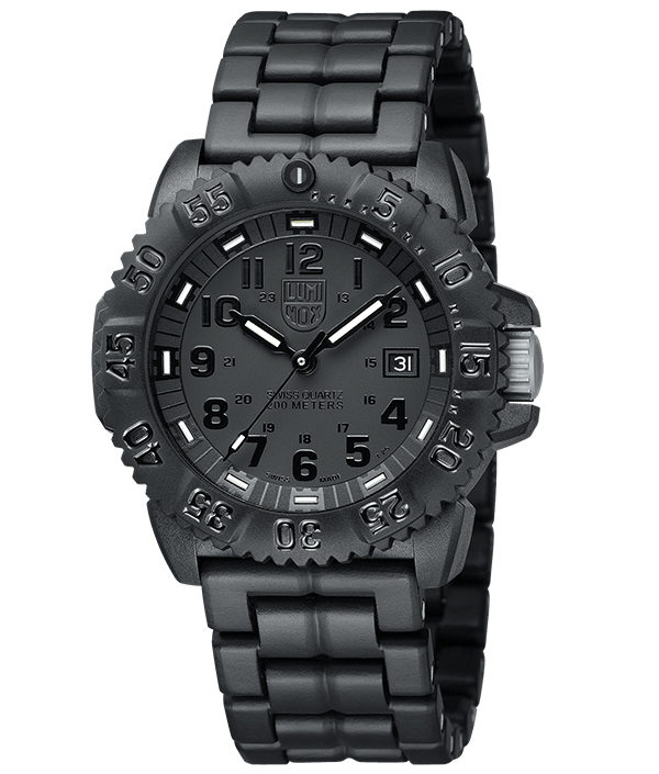 นาฬิกา Luminox รุ่น LUMINOX XS.3052.BO (สายข้อแข็ง PC Carbon) Men's EVO Navy SEAL Dive Watch Colormark