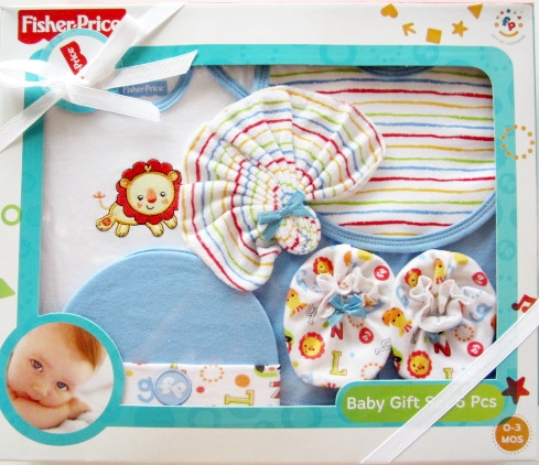 Baby Gift Set Fisher Price ( 6 ชิ้น )