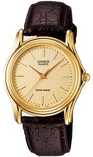 นาฬิกา คาสิโอ Casio Analog'men รุ่น MTP-1096Q-9A