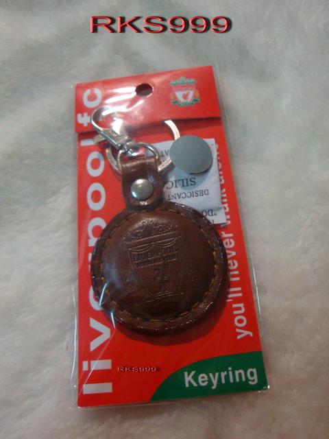 พวงกุญแจ หนังกลม K-05