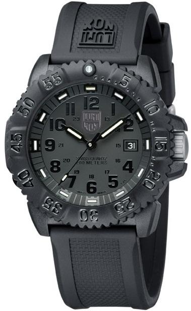 นาฬิกา Luminox รุ่น LUMINOX 3051.BO EVO Navy SEAL Blackout Men\'s Military Watch