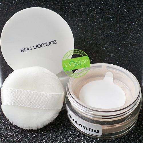 Shu Uemura Face Powder Sheer 3.2 g # Colorless โปรงแสง ไม่มีสี พร้อมพัฟ คุณภาพเหมือนขนาดปกติ *หมดค่ะ*