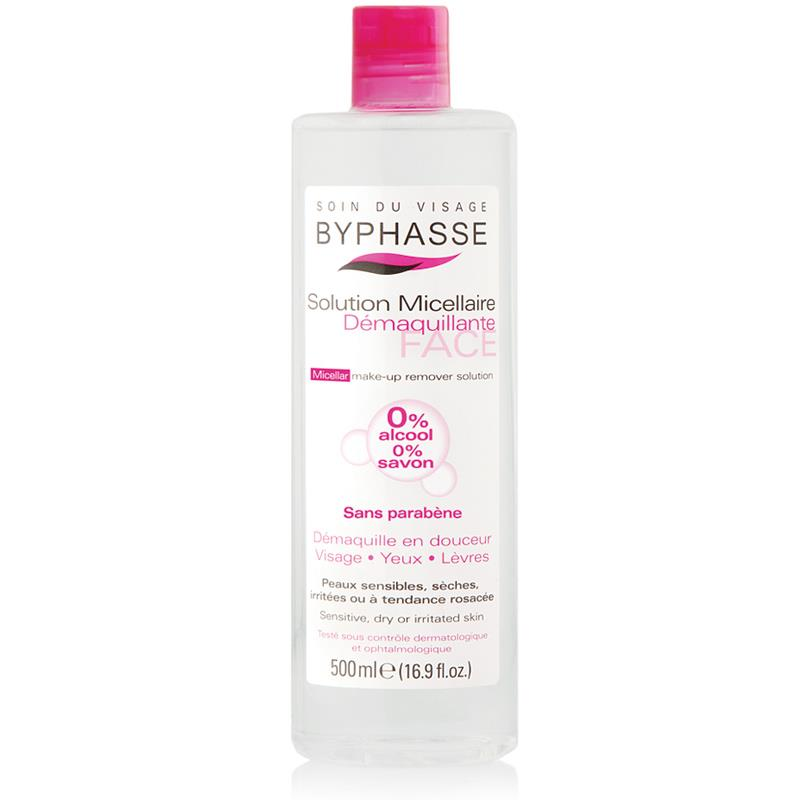 Byphasse Micellar Make-up Remover Solution 500ml.