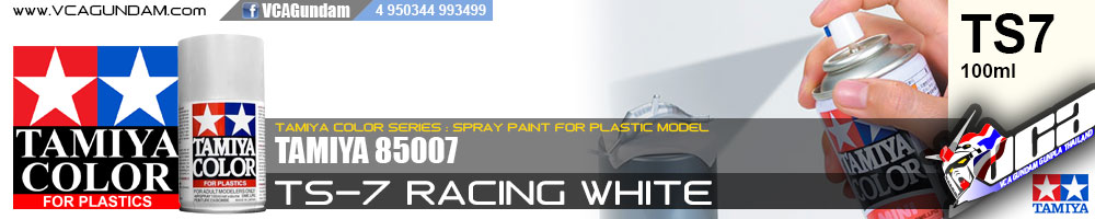 TAMIYA 85007 TS-7 RACING WHITE