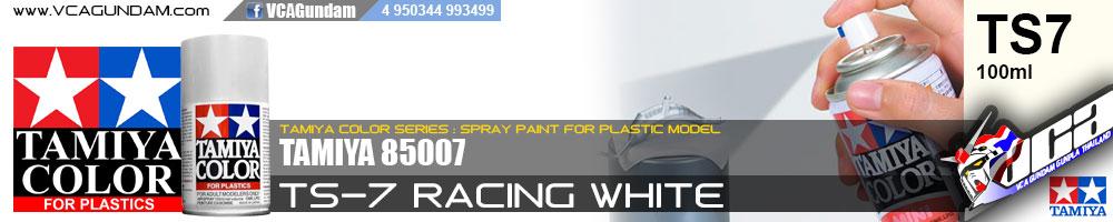 TAMIYA 85007 TS-7 RACING WHITE