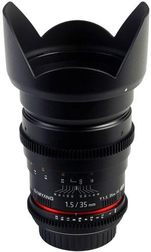 Samyang 35mm T1.5 AS UMC VDSLR Lens