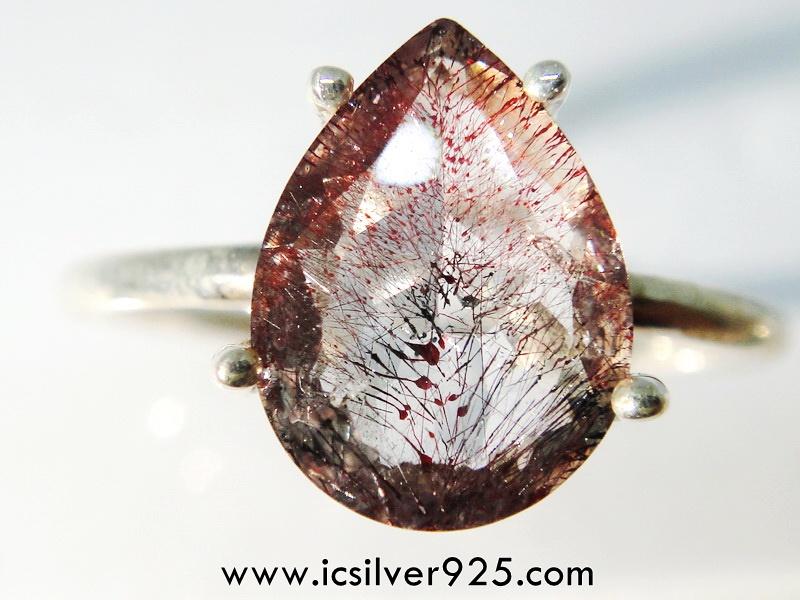 ซุเปอร์เซเว่น Super Seven 7 - แหวนเงินแท้ 925 (แหวนเบอร์ : 55)