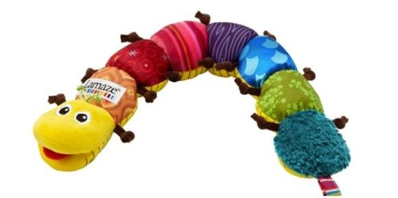 ของเล่นเด็กอ่อน ตุ๊กตาหนอน Lamaze เสริมพัฒนาการเด็ก