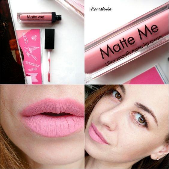 Sleek Matte Me Ultra Smooth Matte Lip Cream #435 Petal